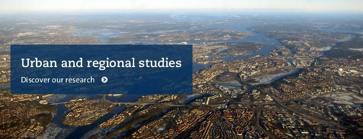 The Stockholm Urban and Regional Research Environment (SURE)